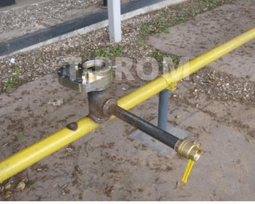 врезка в газовую трубу под давлением: присоединение двух труб разного диаметра tprom.com.ua
